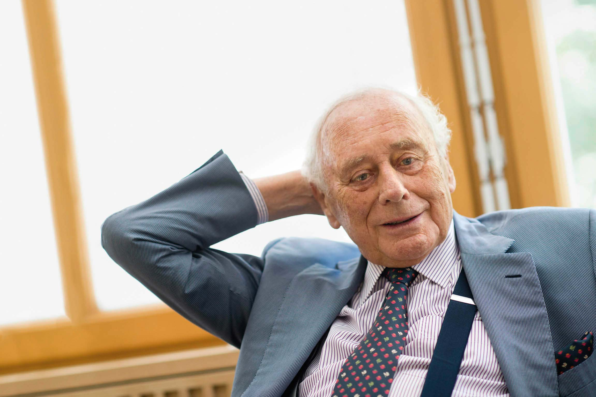 "Even at the age of 83, Prof. Reinhold Würth never stops asking himself what is ""beyond the tip of his own nose"". Something that is deeply ingrained in the day-to-day working life of all Würth employees."