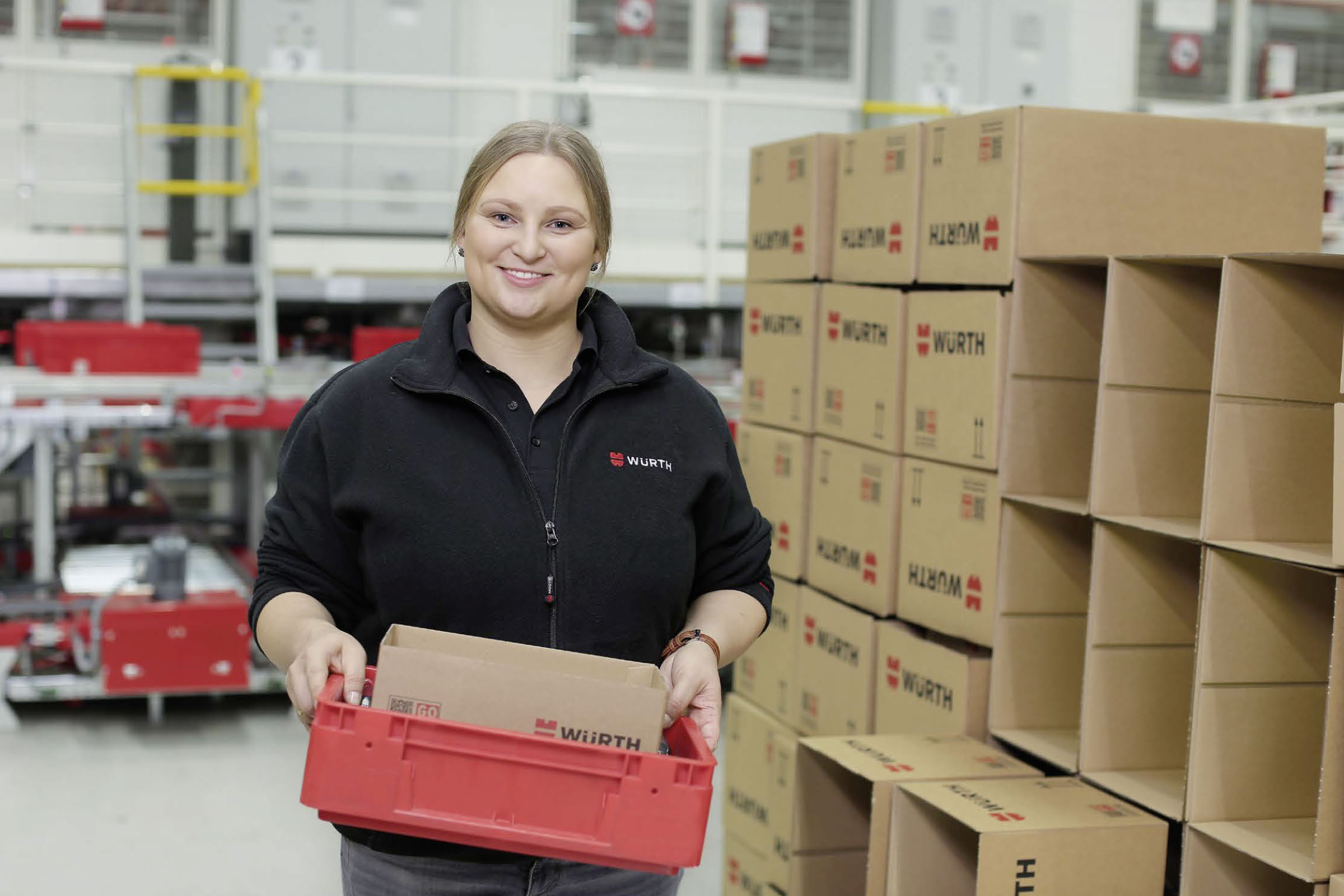 """During my training to become a professional warehouse clerk, I was always challenged but also encouraged. I just feel at home here: my work is varied and I have a great team,"" says Judita from Lithuania."