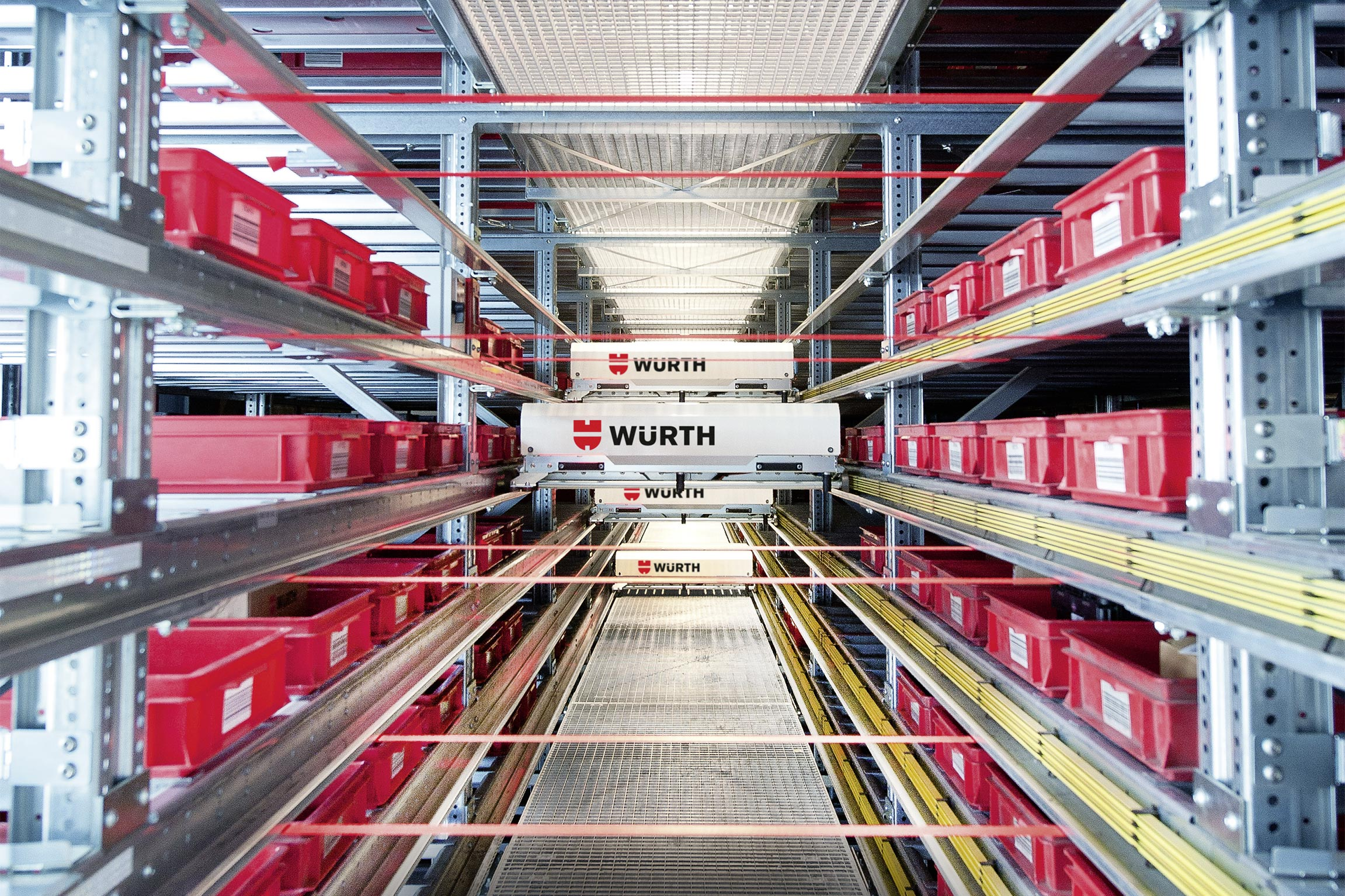 Würth Industrie Service GmbH & Co. KG, Bad Mergentheim: The Kanban logistics center at Industriepark Würth – customized C-part management ensures maximum supply security for manufacturing companies.