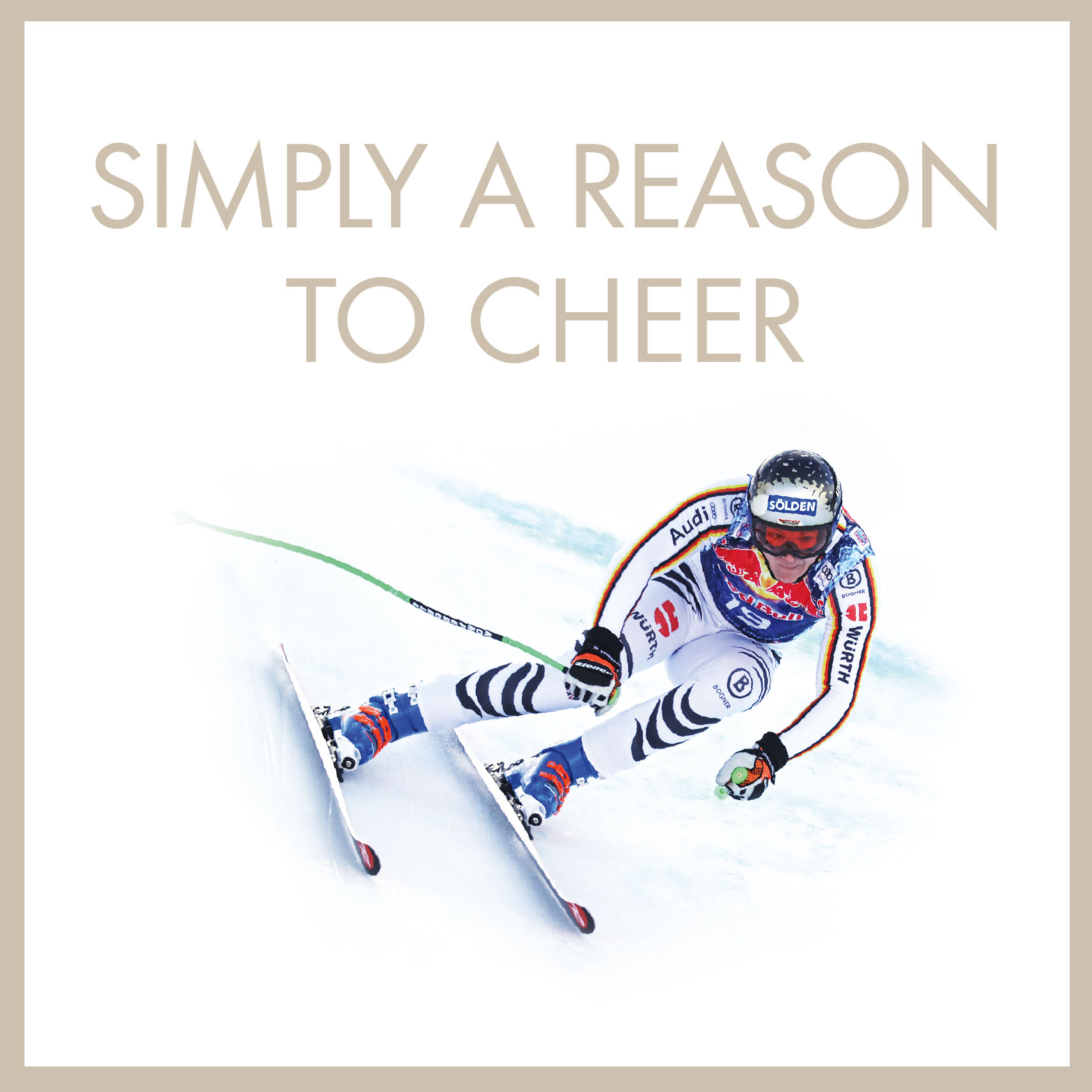 simply a reason to cheer